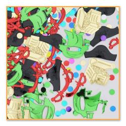 Pirat konfetti Färgglad