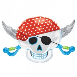 Folieballong Pirate