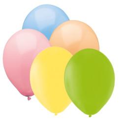 Ballonger Färgglada