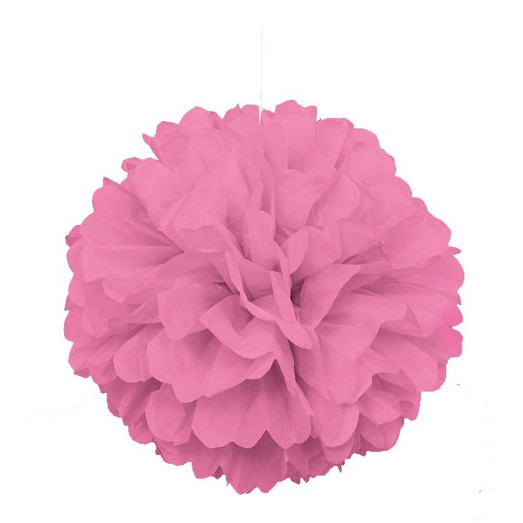 Pappersboll Dekoration Rosa