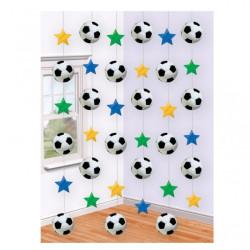 Draperi Girlang Fotboll