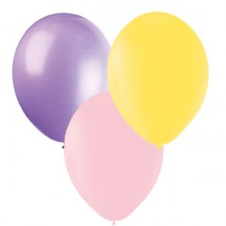 Ballonger Mix,rosa,lila,gul