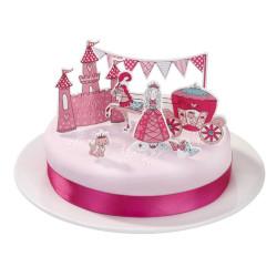 Tårtdekoration Prinsessa