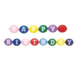 "Ballongbåge ""Happy Birthday"""
