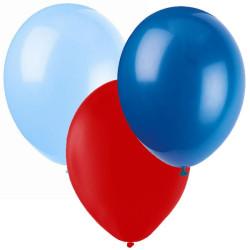 Ballonger Ljusblå, Röd, Blå