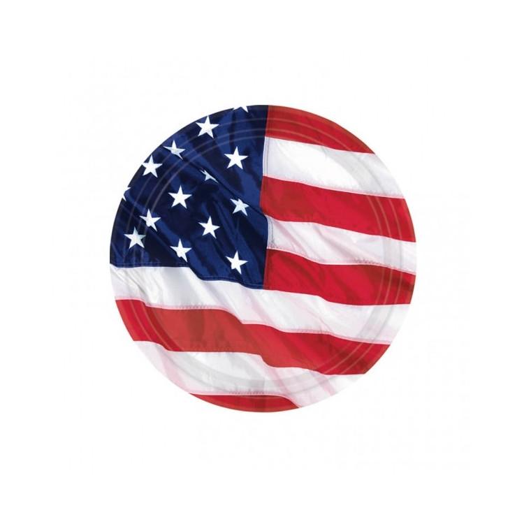 Pappersassietter USA tema