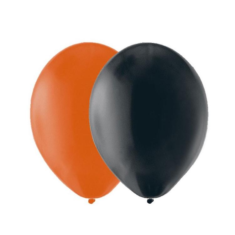 Ballonger Orange, Svart