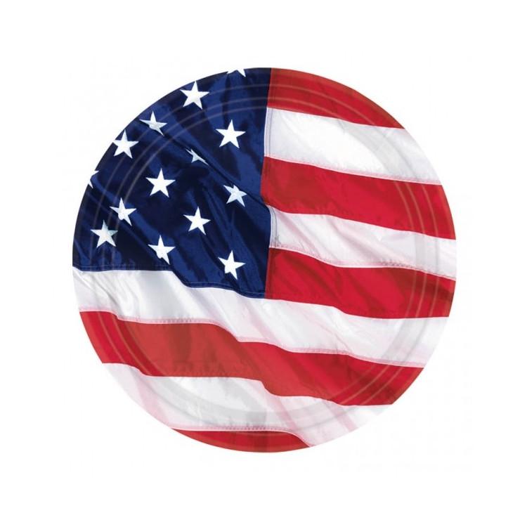 USA Papperstallrikar