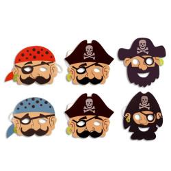 Piratmasker