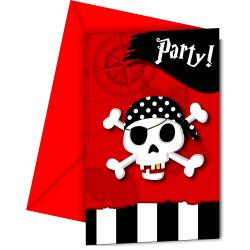 Piraternas återkomst Inbjudan