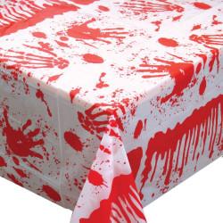 Duk med blodstänk