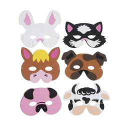 Bondgårds-/Husdjur masker
