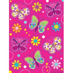 Klistermärken Fjäril Glitter