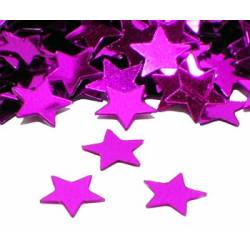 Konfetti Stjärna Rosa