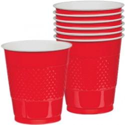 Amerikanska Festmuggar, Plastmuggar, Red Cups