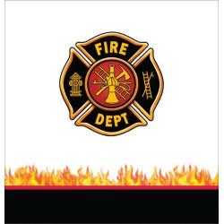 Brandbil Bordsduk Fire