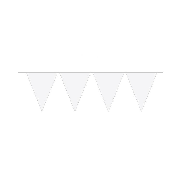 Flaggirlang Vit