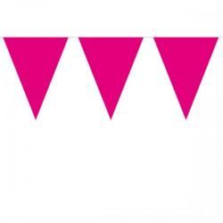 Flaggirlang Hot Pink