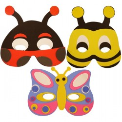 Mask med insekter