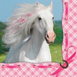 Kaffeservett Vita Hästen