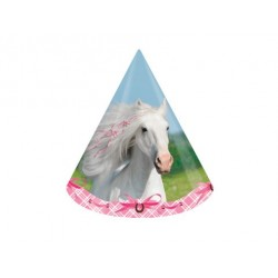 Partyhattar Vita Hästen
