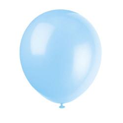 50 pack Ballonger Babyblå