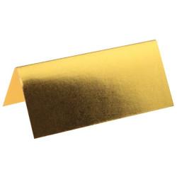 Placeringskort Guld