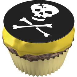 Muffinsbilder Dödskalle