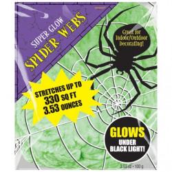 Spindelnät grön