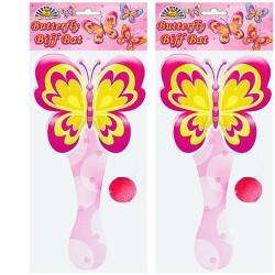 Pingpongspel Fjäril