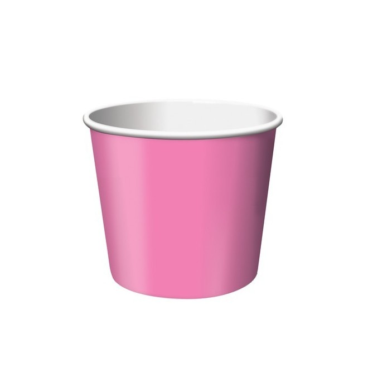 Glass/godisbägare Hot Pink