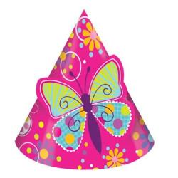 Partyhatt Fjärilar