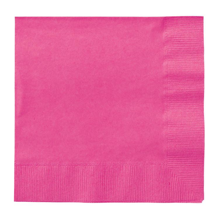 Kaffeservett Hot Pink