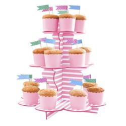 Muffinsställning Rosarandig