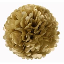 Pappersboll Dekoration Guld