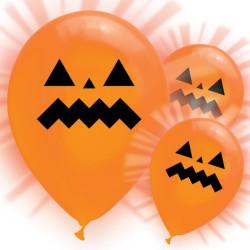 Lysande Halloweenballonger