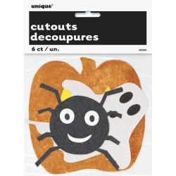 Halloween Cutouts 6 pack