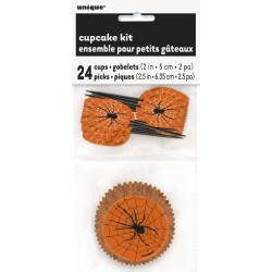 Cupcake Kit Spindelnät