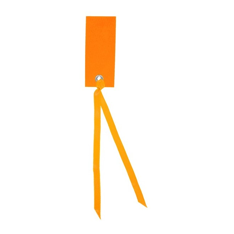 Namnetikett Orange