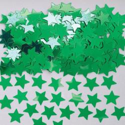 Konfetti Stjärna Grön
