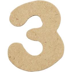 Siffra 3 för pyssel