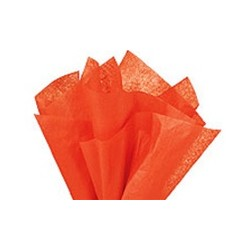 Silkespapper Orange
