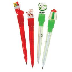 Lysande penna julmotiv