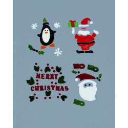 Fönsterbilder Jul och vinter