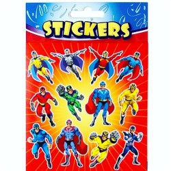 Stickers Superhjälte