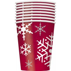 Pappersmuggar Glittrande Jul