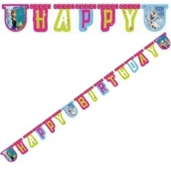Happy Birthday Banner Frost