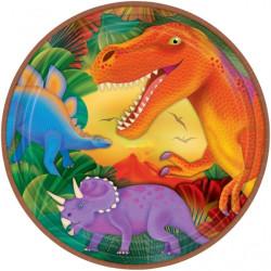 Dino Prehistoric Tallrikar