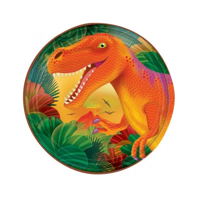 Assietter Dino Prehistoric