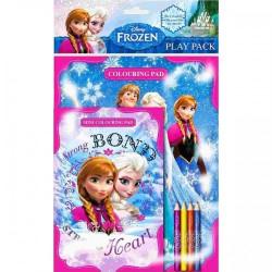 Frost Målarbok med pennor